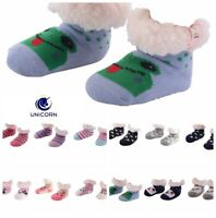 Nuzzles Slipper Non Slip Sole Sock Flooring Bedding thick TODDLER SIZE FIT ALL