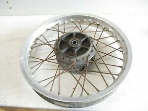 "1981 Suzuki PE 400 used Rear Wheel Rim 18"""
