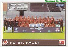 341 MANNSCHAFT GERMANY FC ST. PAULI STICKER BUNDESLIGA 2011 TOPPS