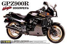 1/12 AOSHIMA 004287 KAWASAKI GPZ900R - NINJA 02 Plastic Model Motor Cycle Kit