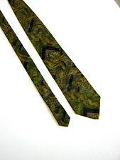 KENZO Paris Tie Cravatta  100% SETA SILK ORIGINALE