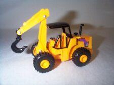 Lionel Log Loader w/Hook Caterpillar Construction Vehicle Flatcar Load EX NEW!