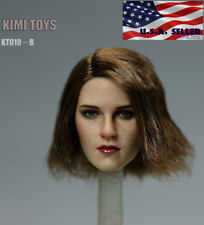 "1/6 Female Head Sculpt Short Hair For 12"" PHICEN TBLeague Hot Toys Figure ❶USA❶"
