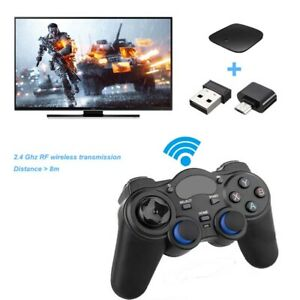 USB Wireless Gaming Controller Gamepad for PC/Laptop Computer & PS3 &Android New