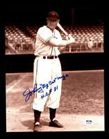 Johnny Mize Big Cat HOF 81 PSA DNA Coa Hand Signed 8x10 Photo Autograph
