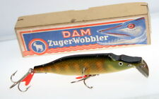 Dam Minnow Rare German Antique Fishing Lure Vintage nice in box