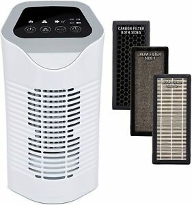 Air Purifier Addis (Silentnight) with HEPA &Carbon Filters, Ionizer and Timer