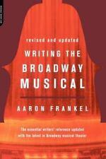Frankel, Aaron Writing The Broadway Musical