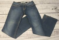 BKE Buckle Payton Stretch Boot Cut Jeans Size 27L 27x33 1/2 VGUC