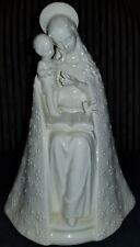*Vintage Hummel Flower Madonna Figurine 10/1 Mary & Baby Jesus - TMK2 Full Bee