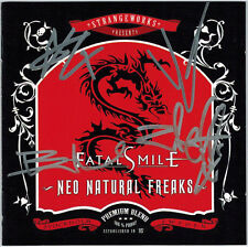 FATAL SMILE - Neo Natural Freaks (CD 2006) SIGNED!