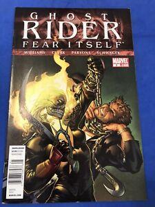 Ghost Rider #2 Fear Itself HTF High Grade Newsstand Price Variant Marvel 2011