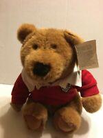 "GUND Lands End Brownie Muldoon Bear NEW 1995  13"" Plush Stuffed Animal"
