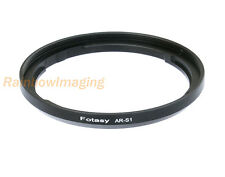 72mm Metal Filter Adapter for FUJIFILM FinePix S1 camera, replaces AR-S1