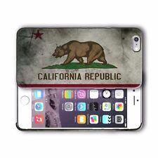California State Symbols Flag Iphone 4s 5s 5c SE 6s 7 8 X XR 11 Pro Plus Case 3