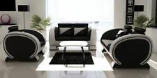 Ledersofa Sofagarnitur Moderne 3+2+1 Sofa Couch Polster Sitz Garnitur Leder Neu