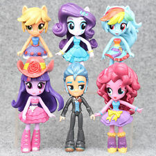 My Little Pony Equestria Girls Action Figures PVC Dolls Monster High Toys 6 PCS