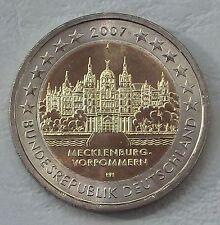 2 Euro Deutschland J 2007 Mecklenburg-Vorpommern Schweriner Schloss unz