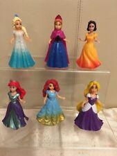 Princesse Disney polly pocket Style Ser de 6 nouveaux courageux, congelés, enchevêtrement... gâteau Top