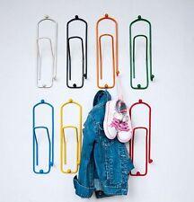 Design Ganci Appendiabiti Guardaroba da Parete Metallo Bambini Colorato Ufficio