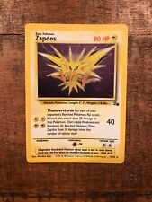 Pokemon - Zapdos - 1st Edition - Fossil Set 15/62 Rare Holo - New