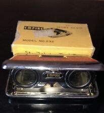 Vintage Green Empire Butterfly Folding Opera Sport Glass Binoculars 2.5X Japan