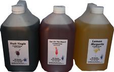 Cocktail Granita Slushie Syrup Mix 2 cartons 0f  3x4 Litres