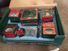 Noma Music Box Christmas Collection 4 Animated/ Musical Boxes, 16 Songs