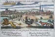 DORNBERG GROß-GERAU HESSEN KUPFERSTICH MEISNER POLITISCHES SCHATZKÄSTLEIN 1638