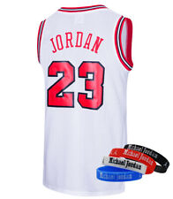 RAAVIN Mens  #23  Basketball Jersey  Retro Athletics Jersey Include Wristbands