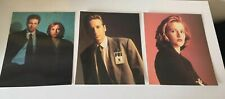 Set Of 3 Large Collectible X Files Post Cards - Mulder, Scully, Mulder & Scully