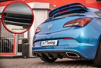Heckansatz Diffusor Performance aus ABS für Opel Astra J OPC schwarz glanz