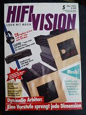 HIFI VISION 5/93,  DYNAUDIO ARBITER,CAMTECH TUNER,AUDIUM 6 L 6,SONY CDP X 202 ES