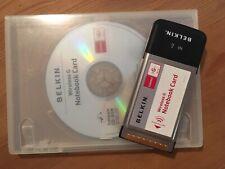 Belkin Wireless G PCMCIA Notebook Card