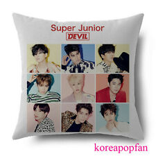 SUPER JUNIOR SUPERJUNIOR SJ DEVIL pillow cushions  KPOP NEW