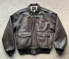 Avirex A2 Vintage Leather Jacket (Large)