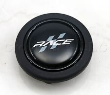 MOMO DRAGSTER Steering Wheel Horn Button - Black with RACE Logo - HORN/DRG