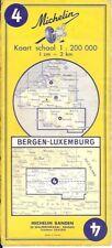 Pneu Michelin Carte au 200,000 Map Mons Luxembourg 4 Ardennes Bastogne Banden 63