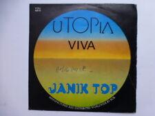 Rare vinyl 45 t SP JANNICK TOP UTOPIA RCA 1975