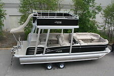 2585 Funship cruise pontoon boat-ski bar Hpp tubes