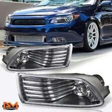 For 04-10 Scion tC Black Housing Front Bumper Driving Fog Light/Lamp+Switch Pair (Fits: Scion)