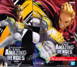 My Hero Academia Amazing Heroes Vol. 8 Mirio Togata Lemillion Figure Banpresto
