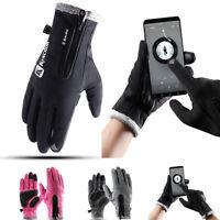 Men Women's Touchscreen Winter Gloves Warm iPhone iPad Bicycling Cycling Driving