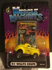 2002 Muscle Machines : CARTOONS '41 1941 Willy's Coupe 1:64 Scale - CO2-04