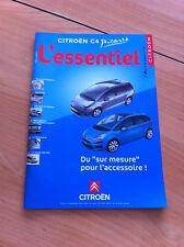 Catalogue accessoire CITROEN C4 Picasso avril 2007