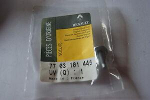 RENAULT CLIO II MEGANE & SCENIC HEX BOLT RDL 5X080 (4 OF) NEW GENUINE 7703101445
