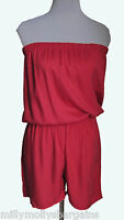 New Womens Pink NEXT Playsuit Size 8 6 RRP £26