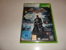 XBox 360  Batman: Arkham Asylum - classics