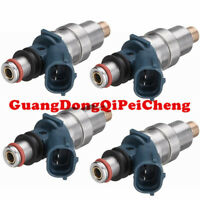 23209-79085 New 4pc Fuel injector For Toyota Tacoma 2.4L L4 Gas Engine 1995-2000