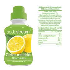 10€/L SodaStream Getränkesirup Sirup Drink (6er Pack)